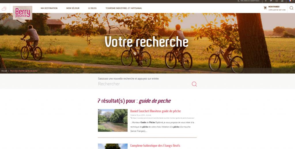Daniel Souchet sur Berry Province