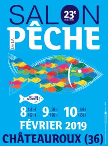 logo salon pêche chateauroux 2019